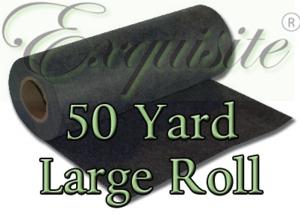 Exquisite EXLR20 Large Roll  20in X 50 yd Heavy Black Cutaway 3.0 oz Stabilizer
