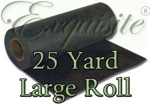 """55889: Exquisite EXLR19 B4182325 Heavy Black Cutaway Stabilizer 3oz 20""""x25Yds Lg Roll"""