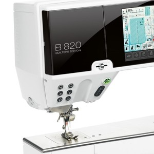 "Bernina 820QE Sewing, Embroidery, Quilting Machine, 12"" Arm, BSR* Stitch Regulator, 1100SPM, Jumbo Bobbin, Swiss"