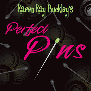 Karen Kay Buckley KKB20421 50 Perfect Pins for Applique and Piecing, Sharp and Thin