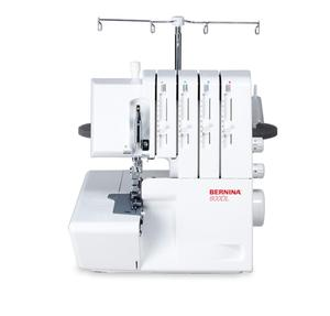 Bernina 800DL 2-3-4 Spool Serger, Auto Looper Threader, Easy Lay In Adjustable Thread Tensions, Roll Hems, Differential Feed, External Knobs for DF SL