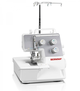 Bernina L220 Professional 3 Needle 4 Thread Cover and Chain Stitch Hemmer Machine, Auto Looper Threader, Adjustable Stitch Length, Differential Feed