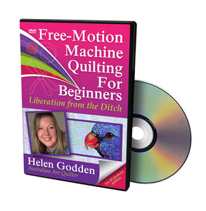 Handi Quilter HL00200 Free Motion Machine Quilting for Beginners DVD Video