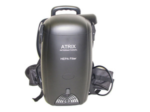 Atrix VACBP400 Aviation HEPA Lightweight Backpack Vacuum, 400Hz for 110V Outlets on Airplanes