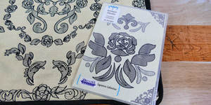 Floriani S-9743 Antique Florals - Signature Series Embroidery Design Collection