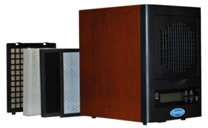 Sunheat MA-4000, Mountainaire HEPA Air Purifier for 1000-3000 Sq Ft, 110v,l 40 watts, weighs 14.5 pounds