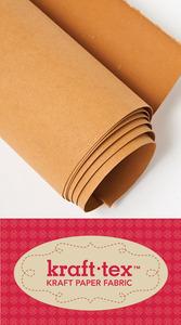 """59950: C&T Publishing CT20211 Kraft-Tex Paper Fabric Natural 18"""" x 1.63 yard roll"""