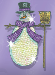 Great Notions CMC-WMM1 Winter Mylar Magic 20 Embroidery Designs CD