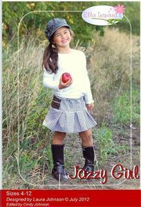 Jazzy Girl EIP08 Size 4-12 Pattern