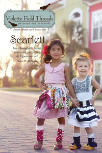 Violette Fields VFT22S Scarlett Skirt and Leg Warmer Pattern