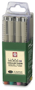 Pigma Micron Pen Cube Collection 16 Piece | 7167A
