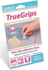 60397: Grace 8-TG True Grips prevent rulers from slipping on fabrics