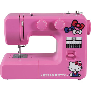 Hello Kitty Sewing Machine 14412 12/39 Stitch Mechanical, 13Lbs