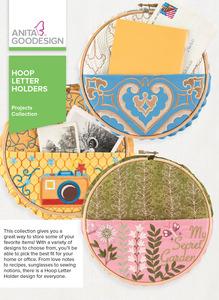 59513: Anita Goodesign PROJ83 Hoop Letter Holders CD