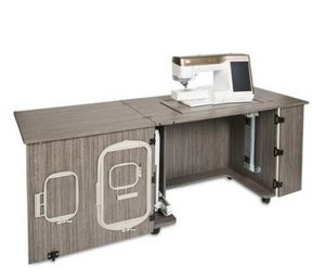 "61307: Sylvia Design 2400 Sewing Cabinet 78x30"" +Large Cutout 28-3/8x14-3/16"""