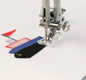 Janome 204- 202086002 Applique Satin Stitch Foot for up to 9mm Stitch Width Models*