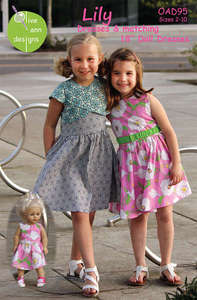 Olive Ann OAD95 Lily Sewing Pattern