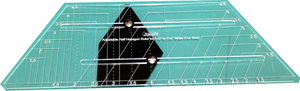 Sew Steady Westalee WR -ADJHALFHEX Adjustable Half-Hexagon Ruler Template