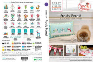Every Stitch Counts ESC-Q8 Frosty Forest ESC 26 Embroidery Designs CD by Cherry Guidry