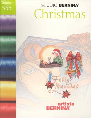 Bernina Artista 535 Christmas Embroidery Card