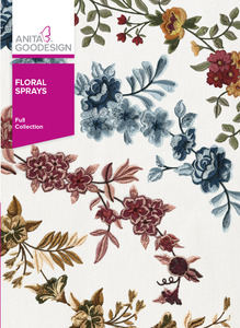 Anita Goodesign Floral Sprays Full Collection Embroidery Designs CD