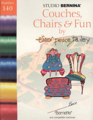 1730: Bernina Deco 140 Couches, Chairs & Fun by Elinor Peace Bailey Embroidery Card