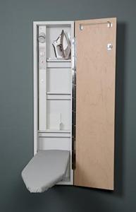 "Iron-A-Way ANE46WDU Premium 46"" Wall Mount Ironing Board Center"