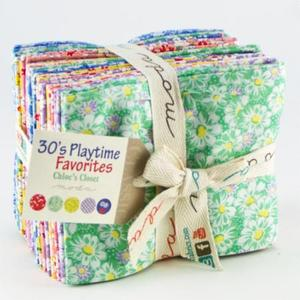 30s Playtime Fav 905AB Moda Fat Quarter Precuts