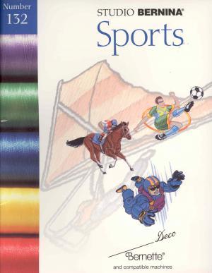 Bernina Deco 132 Sports Embroidery Card