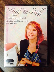 62042: Paula Reid Fluff & Stuff Machine Quilting Secrets 2Hr DVD Inst Video