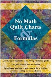 Landauer L2988 No Math Quilt Charts & Formulas Book