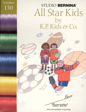 Bernina Deco 130 All Star Kids by K.P. Kids & Co. Embroidery Card