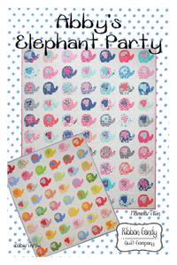 Ribbon Candy RCQ588 Abby's Elephant Party Pattern