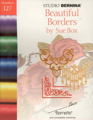 Bernina Deco 127 Beautiful Borders by Sue Box Embroidery Card