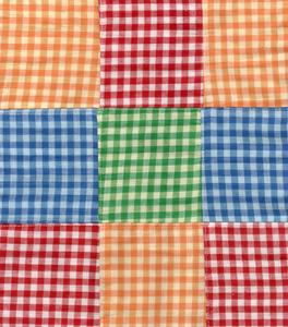 "Fabric Finders 15 Yd Bolt 10.67 A Yd Cotton Patchwork #06 Multi Colored 100% 45"" Pima Cotton Fabric"