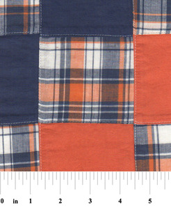 """Fabric Finders 15 Yd Bolt 10.67 A Yd Cotton Patchwork #54 Multi Colored 100% 45"""" Pima Cotton Fabric"""