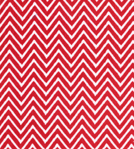 Fabric Finders 15 Yd Bolt 9.33 A Yd 1357 Red Chevron 100% Pima Cotton Fabric 60 inch