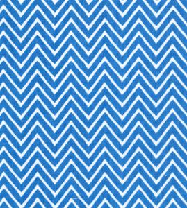 Fabric Finders 15 Yd Bolt 9.33 A Yd 1358 Turquoise Chevron 100% Pima Cotton Fabric 60 inch