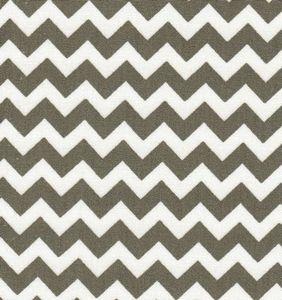 Fabric Finders 15 Yd Bolt 9.33 A Yd 1400-1 Grey Chevron 100% Pima Cotton Fabric 60 inch