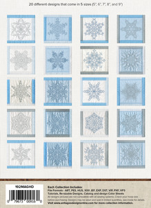 Anita Goodesign 192MAGHD Snowflakes of Rohan Mini Collection