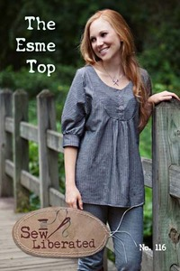 Sew Liberated SLN116 The Esme Top pattern