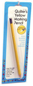 Collins W-183 Quilters Yellow Pencil