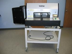 "Brother GT-541 Machine for Parts Only, Garment Printer GT541 14x16"" Platen, USB & CFPorts, 100Kg, Metal Stand for Pick up in Baton Rouge Warehouse"