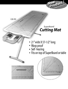 Golden Hands GH-300 Cutting Mat for use with the Iron EZ GH126 Super Big Board