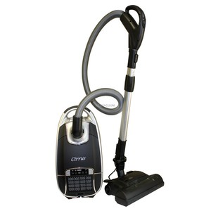 63111: Cirrus C-VC439 Deluxe Power Head HEPA Bagged Canister Vacuum Cleaner