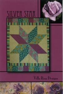Silver Star VRD1006 Villa Rosa Design Pattern Card