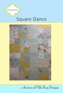 Square Dance VRD HG004 Villa Rosa Design Pattern Card