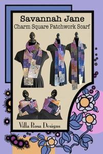 Savannah Jane VRD BP007 Villa Rosa Design Pattern Card