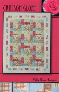Crimson Glory VRD8385 Villa Rosa Design Pattern Card