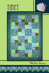 Tibet VRD RC087 Villa Rosa Design Pattern Card